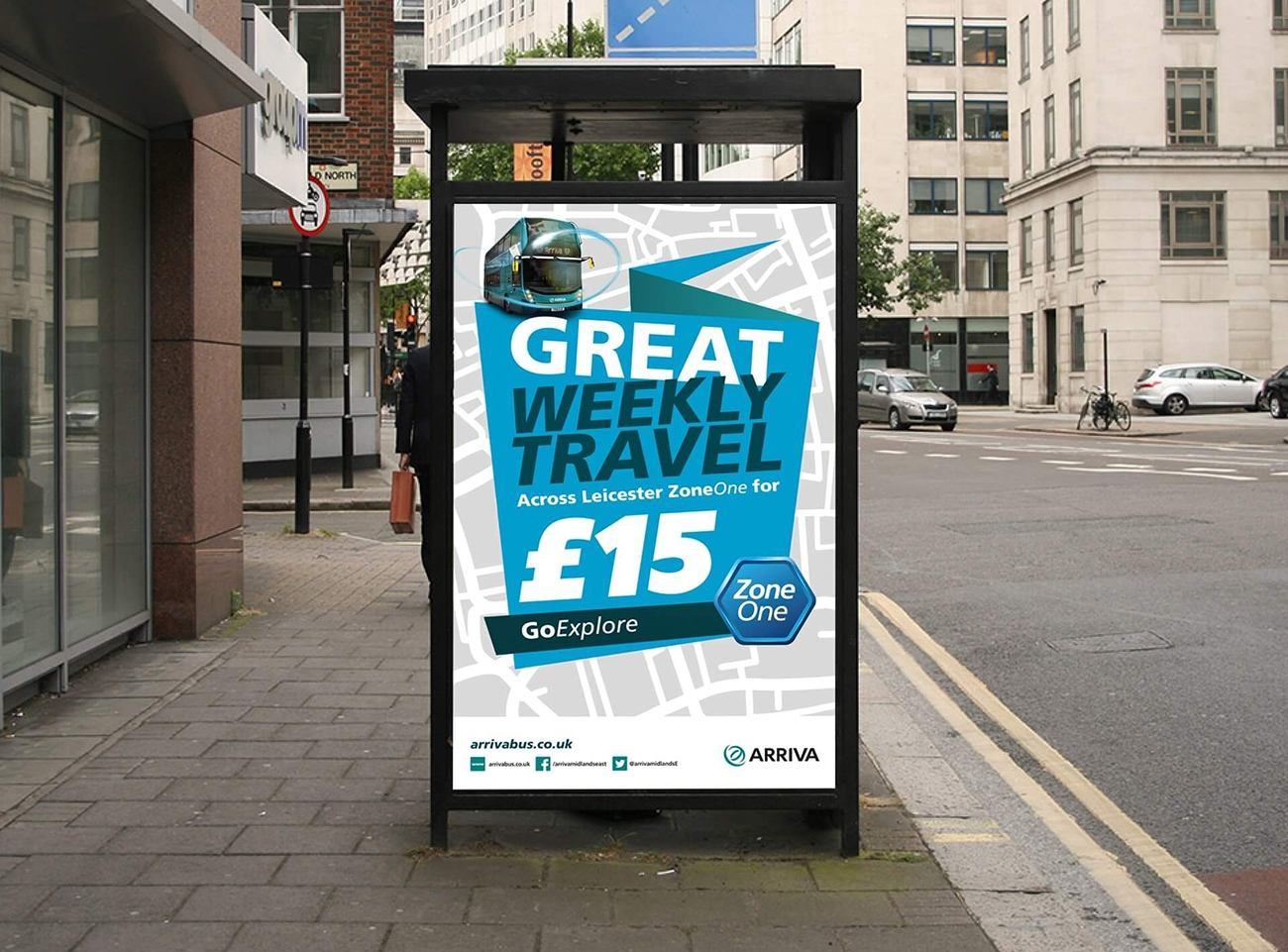 Travel Poster Design Arriva Wolverhampton