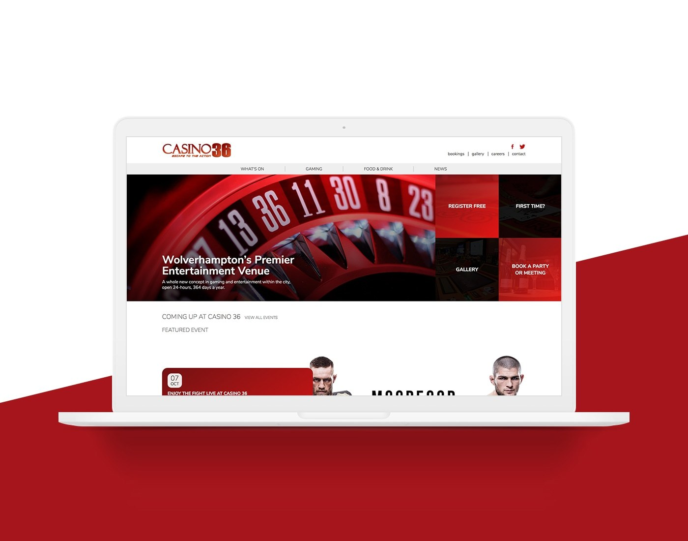 Website Design West Midlands Casino 36