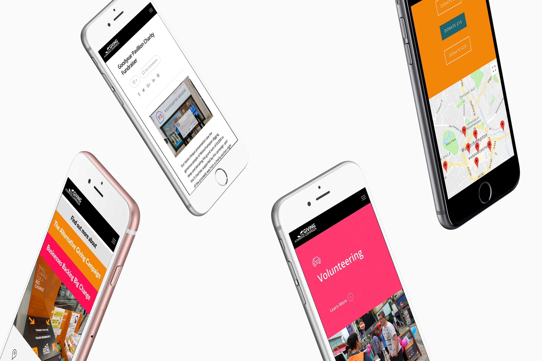 Charity Website Design Wolverhampton Alternative Giving Campaign