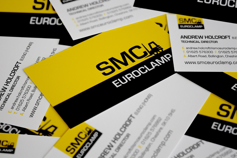 Smc Euroclamp Business Card Design West Midlands