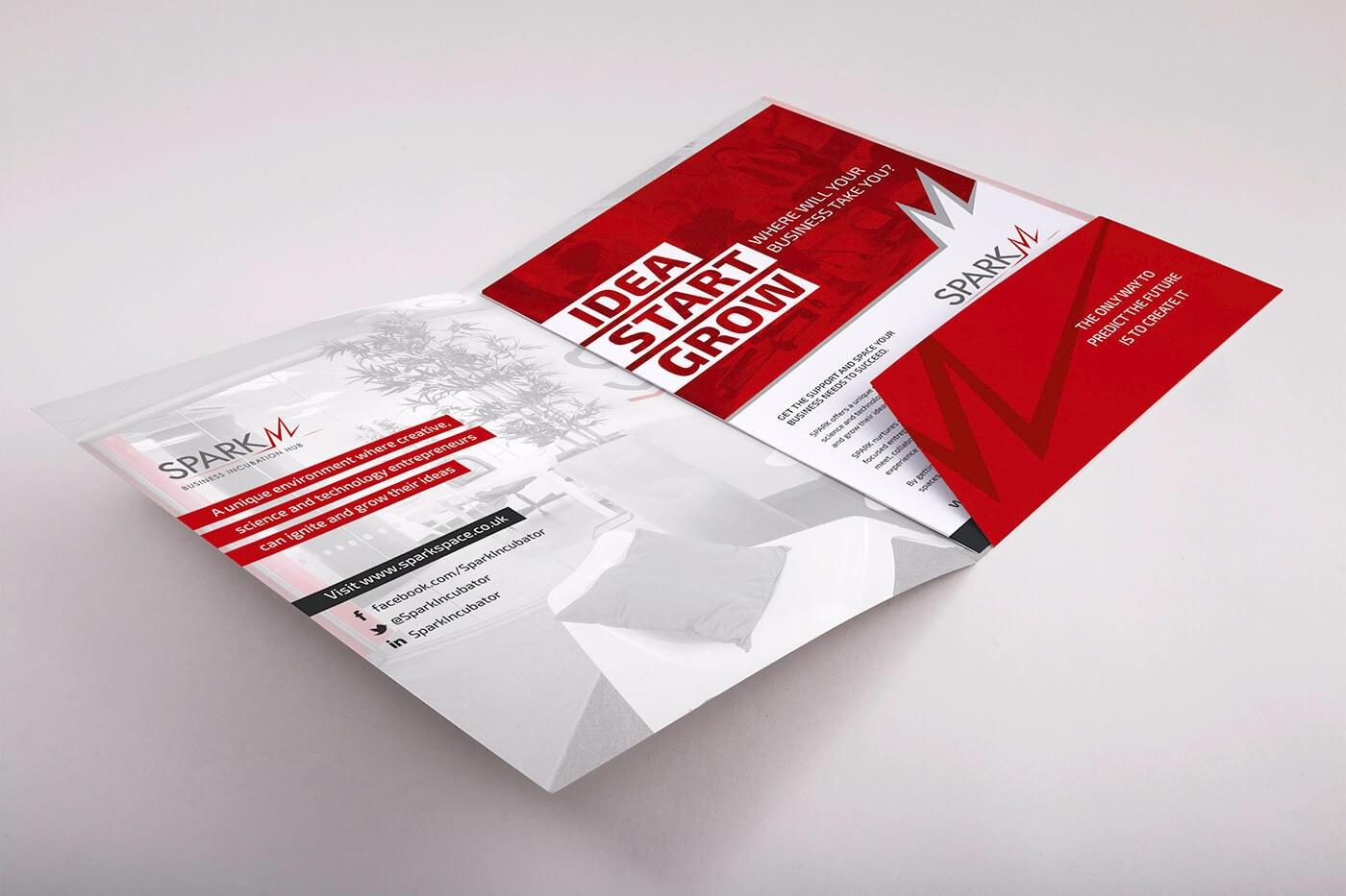 Presentation Document Folder Design Spark West Midlands