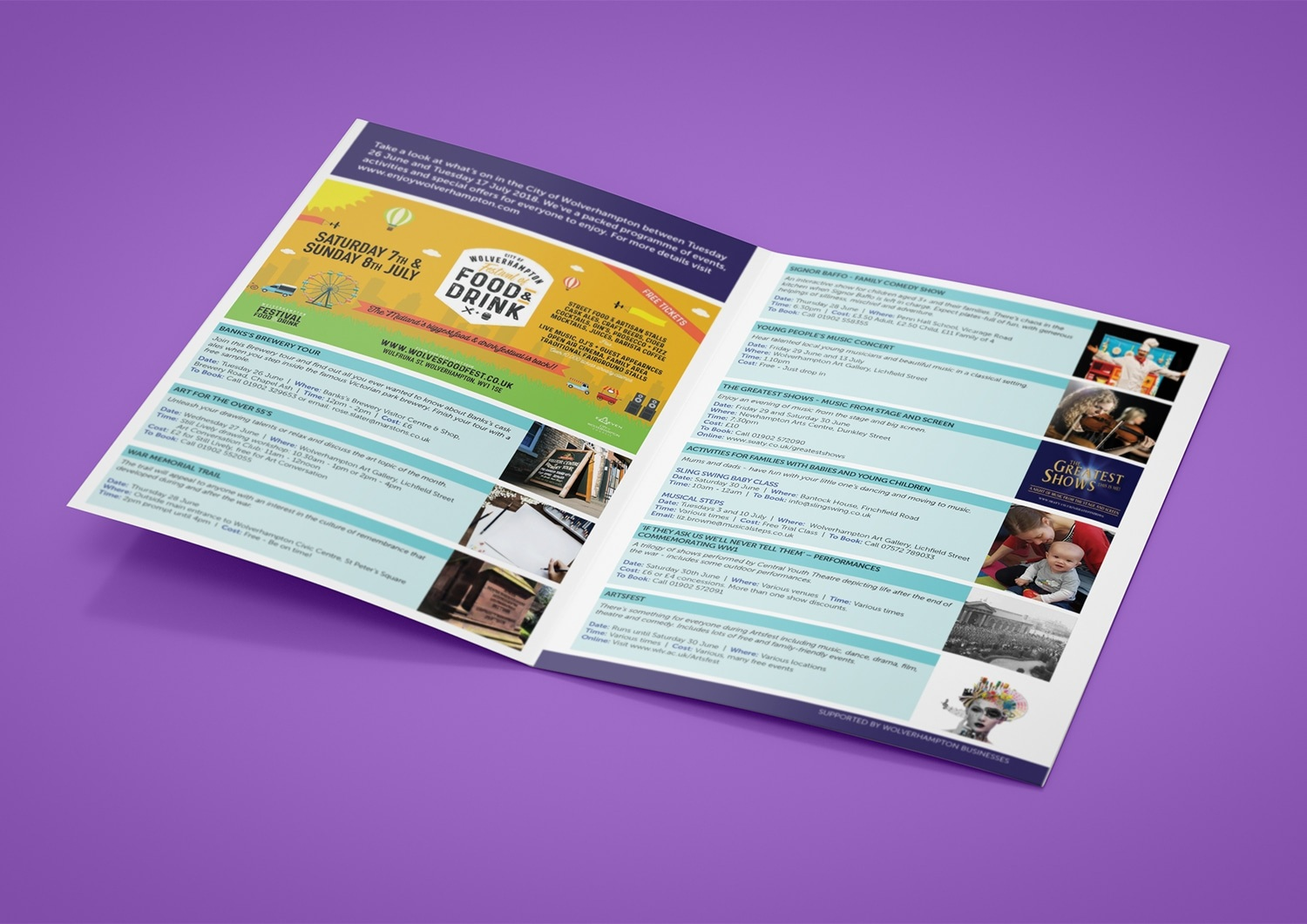 West Midlands Leaflet Design City Council