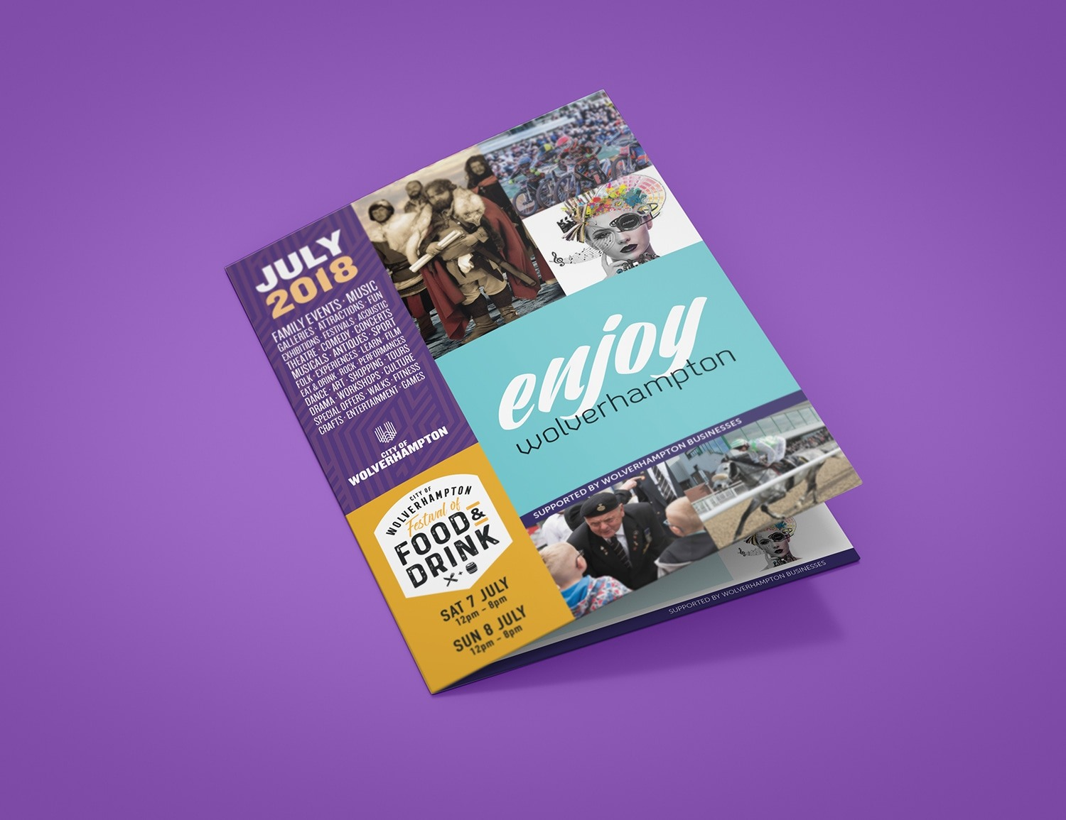 Wolverhampton Leaflet Design City Council