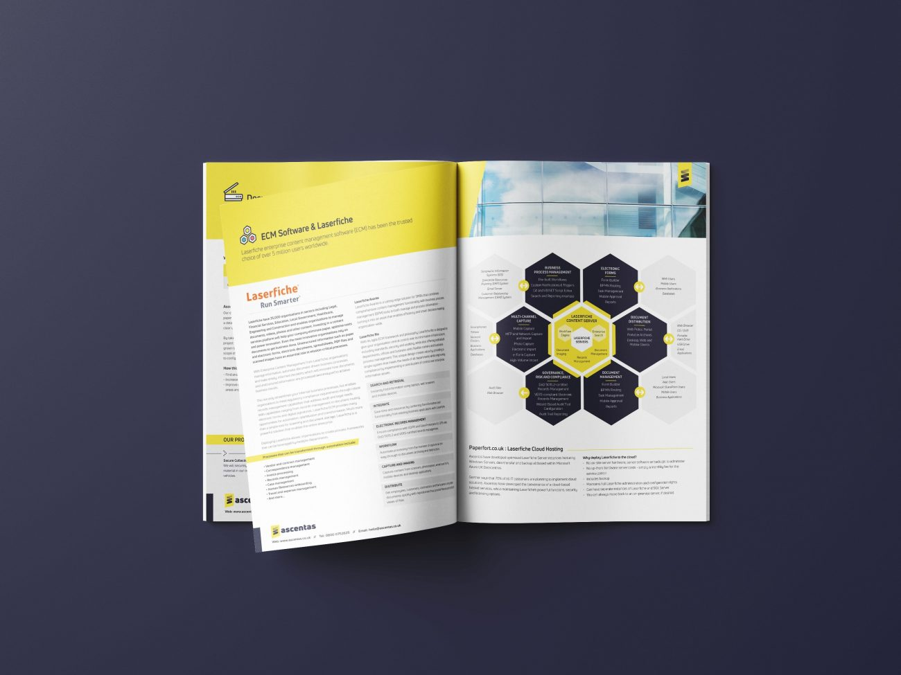 Brochure Design West Midlands IT Company