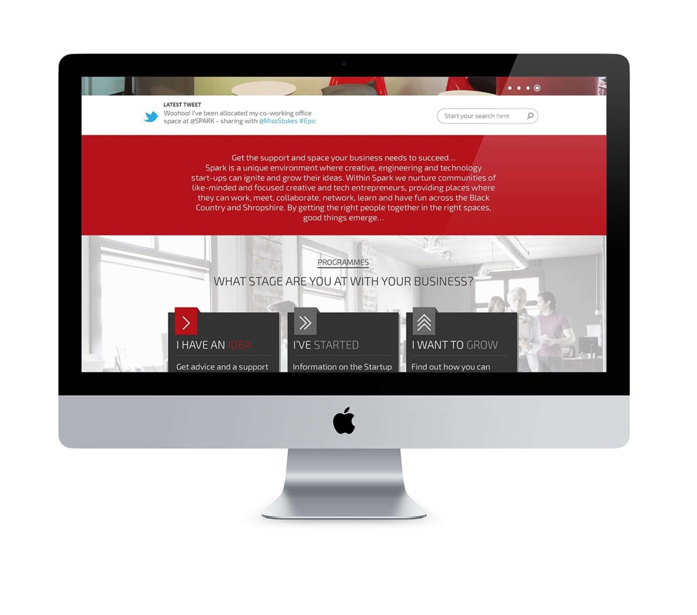 Website Design Spark West Midlands