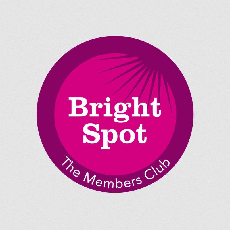 Bright Spot Fundraising Members Club Logo Design West Midlands